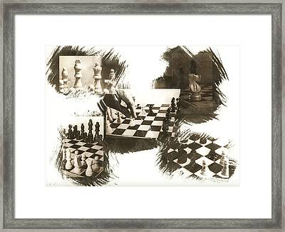 Your Move Framed Print by Caitlyn  Grasso