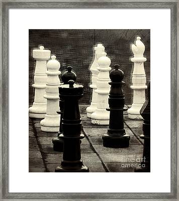 Your Move Framed Print by Colleen Kammerer