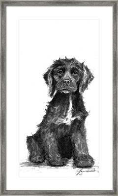 Your Never Too Old Or Too Young Framed Print by J Ferwerda