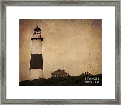 Your Night Light Framed Print by A New Focus Photography