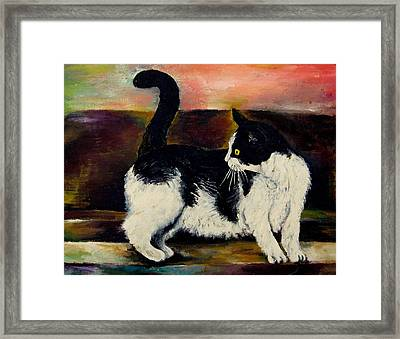 Your Pets Commission Me To Paint Framed Print by Carole Spandau