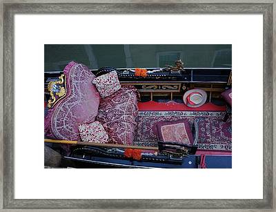 Your Ride Awaits Framed Print