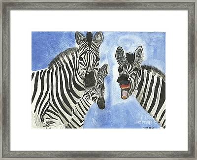Your So Funny Framed Print by Tracey Williams