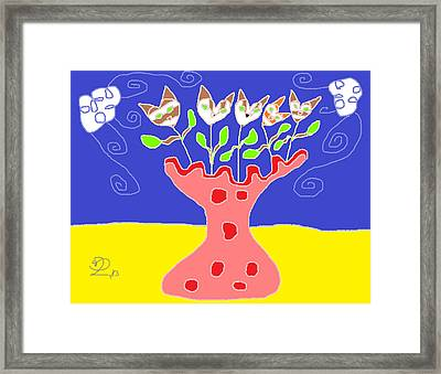Your Sweetest Song Framed Print by Anita Dale Livaditis
