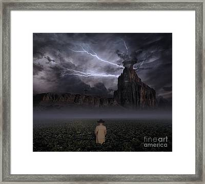 Your Thoughts Run Deeper Framed Print by Keith Kapple