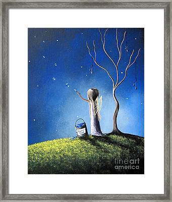 Your Wish Comes True Tonight By Shawna Erback Framed Print by Shawna Erback