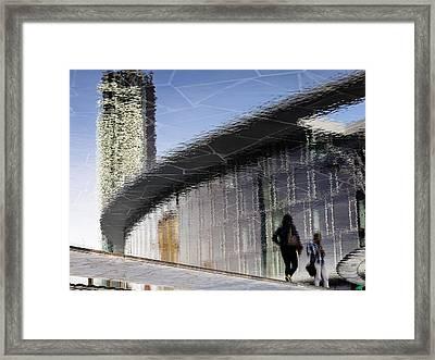 You're Always Late Framed Print by Alfio Finocchiaro