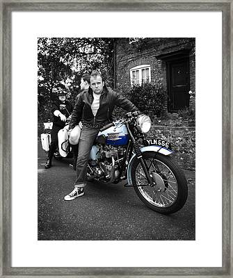 You're Nicked Framed Print by Mark Rogan