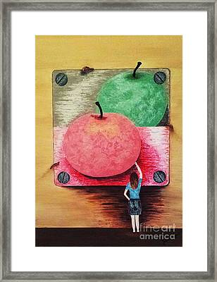 Youth And Maturity Framed Print by Jasna Gopic
