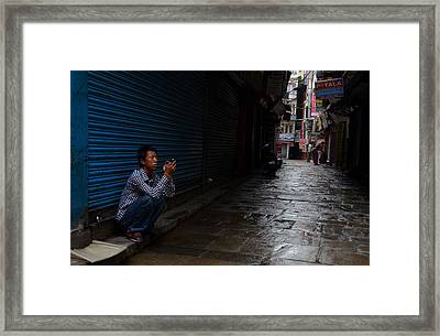 You've Got Mail Framed Print by Aaron Bedell