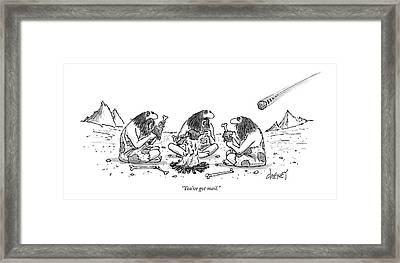 You've Got Mail Framed Print by Tom Cheney