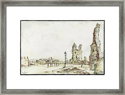Ypres Framed Print by Library Of Congress