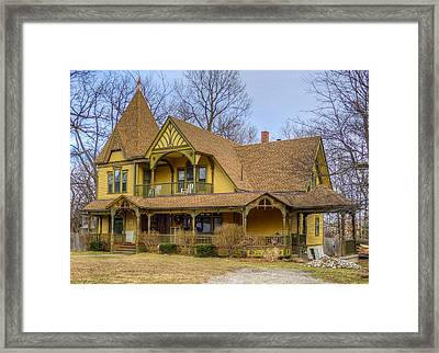 Ypsilanti's Grand Old Dames And Lovely Ladies #2 Framed Print by MJ Olsen