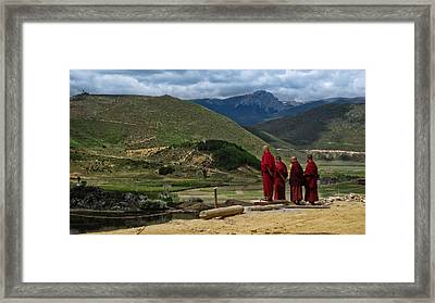 Yuan For Your Thoughts Framed Print by James Wheeler