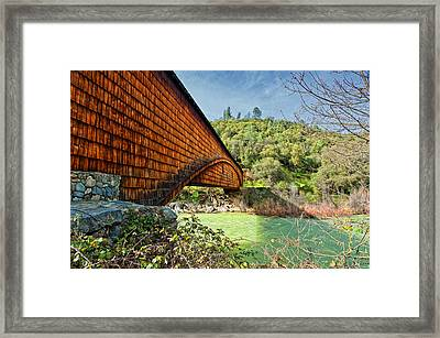 Framed Print featuring the photograph Yuba State Park by Jim Thompson