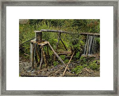 Yubeng Water Works Framed Print by James Wheeler