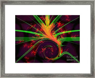Yucca Twist Framed Print by Elizabeth McTaggart