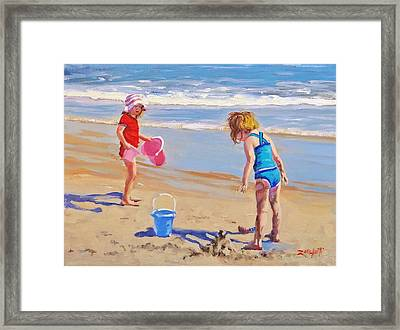 Yuck Framed Print by Laura Lee Zanghetti