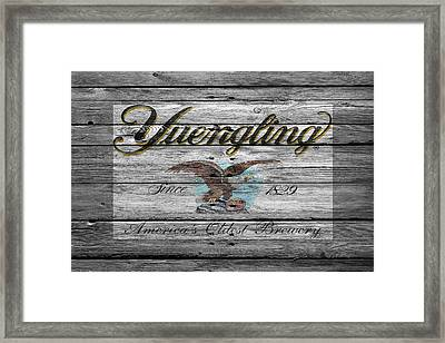 Yuengling Framed Print by Joe Hamilton
