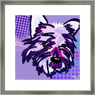 Yuki Framed Print by Mellisa Ward