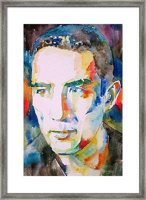 Yukio Mishima Framed Print