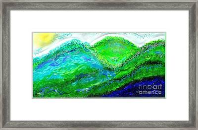 Van Gogh Sunrise Framed Print