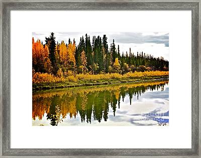 Yukon Autumn Framed Print