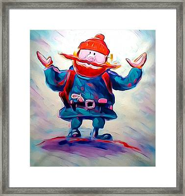Yukon C Framed Print