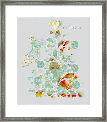 Yule Tide Cheer Framed Print by Gayle Odsather