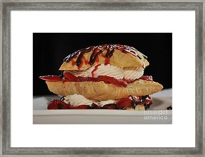 Yum Framed Print by Debby Pueschel