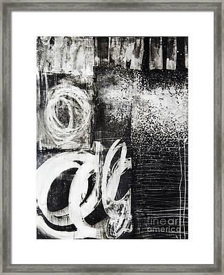 Yupo 1 Framed Print by Elena Nosyreva