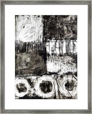 Yupo 3 Framed Print by Elena Nosyreva