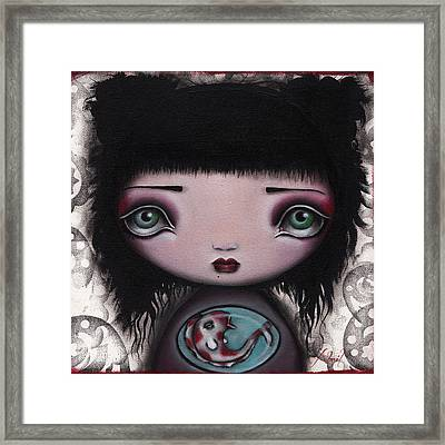 Yuri Framed Print by  Abril Andrade Griffith