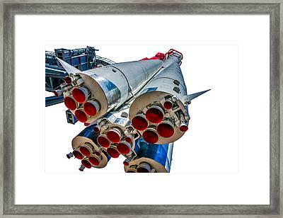 Yuri Gagarin's Spacecraft Vostok-1 - 5 Framed Print by Alexander Senin