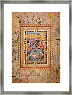 Yusuf Freed From The Well Framed Print by Celestial Images
