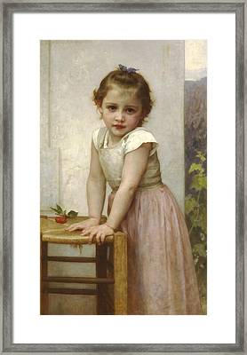 Yvonne II Framed Print by William Bouguereau