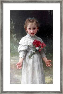 Yvonne Framed Print by William Bouguereau