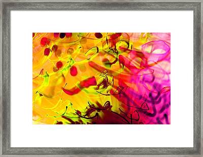 YYZ Framed Print by Dazzle Zazz