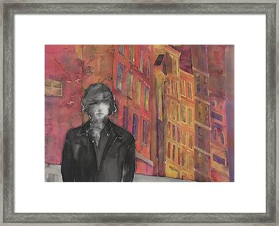 Z And The City 2 Framed Print by Carolyn Doe