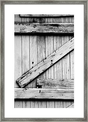 Z Framed Print by Kelly Hazel