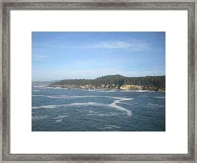 Z Ocean Framed Print