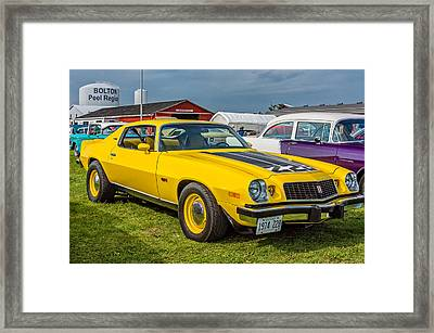 Z28 Camaro Framed Print by Steve Harrington
