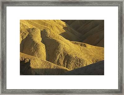 Zabriski Point #4 Framed Print by Stuart Litoff