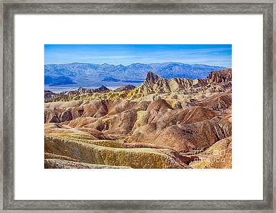 Zabriskie Point Framed Print