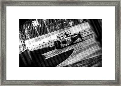 Zach Veach Framed Print by David Morefield