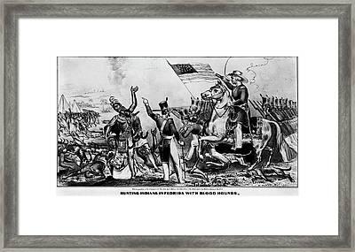 Zachary Taylor Cartoon Framed Print by Granger