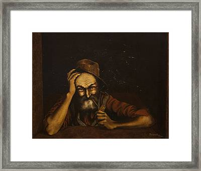 Zackaharia Framed Print by C Michael French