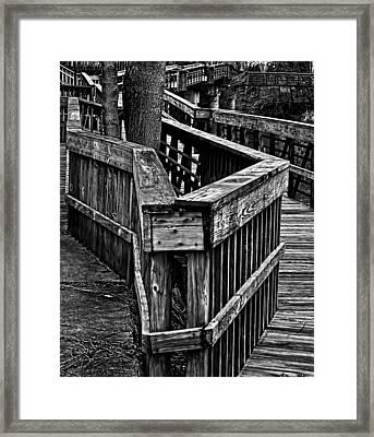Zag Framed Print