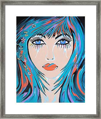 Framed Print featuring the painting Zahara by Kathleen Sartoris