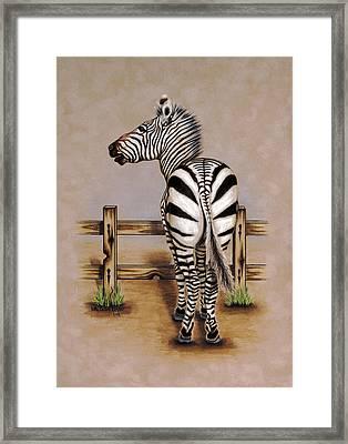 Zahara Framed Print